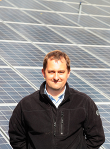 Martin Dowler of 7 Energy - sustainable energy amd renwables expert in Shropshire and Powys